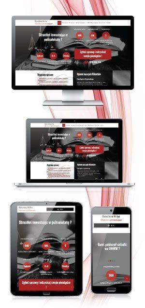 strona internetowa szkoły tańca Swing